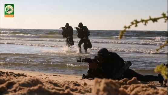 كتائب القسام - وحدة الكوماندوز البحري