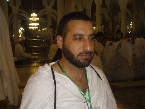 الشهيد مازن فقهاء برفقة القيادي إسماعيل هنية