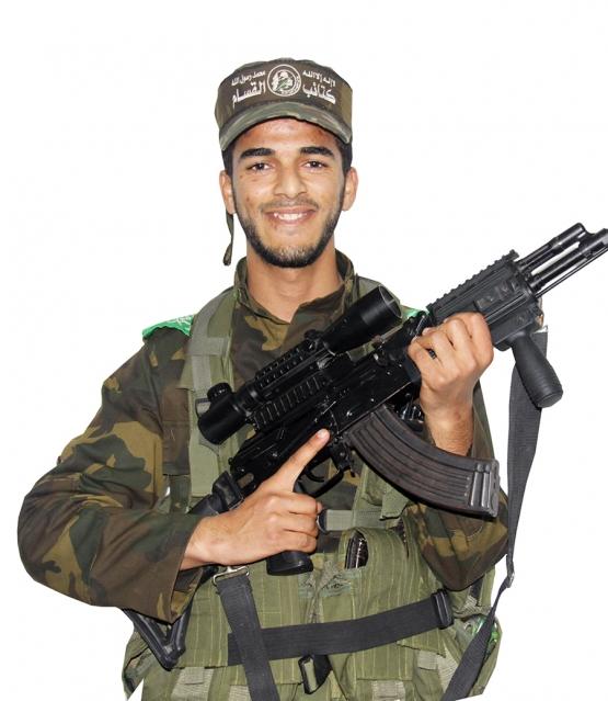 الشهيد القسامي / رمضان محمد أبو جزر