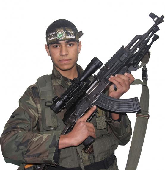 الشهيد القسامي / محمد نضال أبو محسن