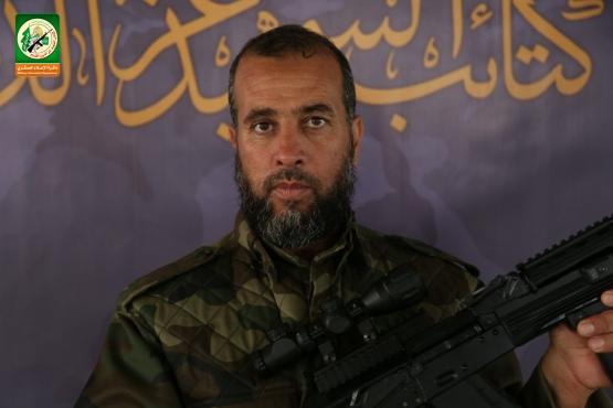 الشهيد القسامي القائد/ إبراهيم أبو نجا