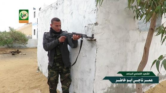 الشهيد القسامي / عمر ناجي أبو خاطر