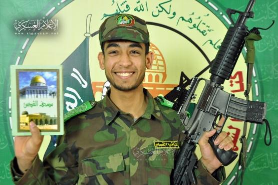 الشهيد القسامي المجاهد / محمد إبراهيم قديح