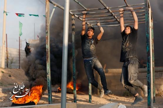 طلائع التحرير - اليوم الثالث - لواء غزة