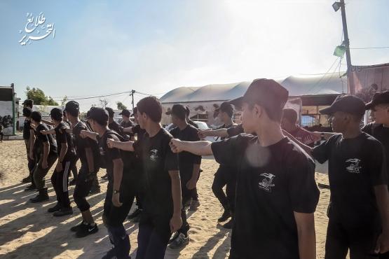 اليوم الأول من المرحلة الثانية لطلائع التحرير - لواء الوسطى