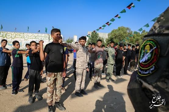 اليوم الأول من المرحلة الثانية لطلائع التحرير - لواء خانيونس