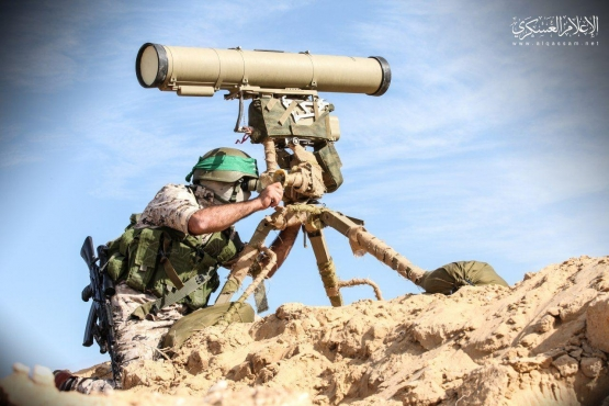 كتائب القسام - سلاح الدروع