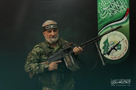 المجاهد القسامي/ حامد عبد المجيد أبو زعنونة