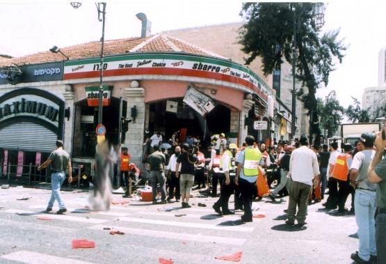 عملية مطعم سبارو بالقدس المحتلة