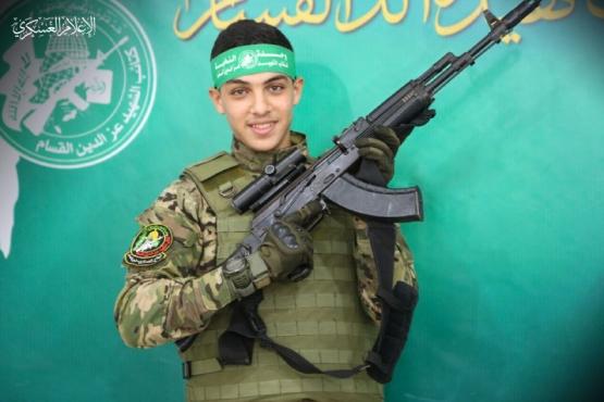 الشهيد القسامي/ أحمد نضال النواجحة