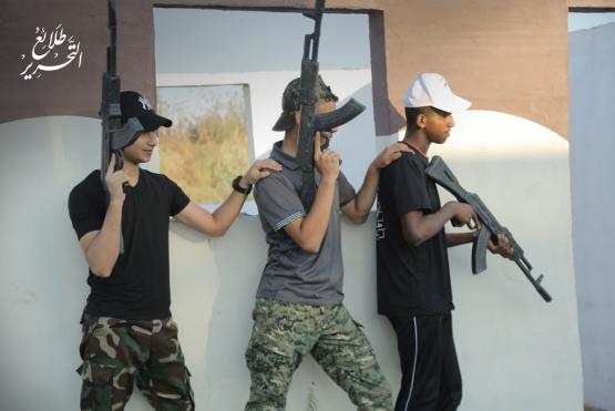 اليوم الرابع للدورة العسكرية التدريبية «سيف القدس»  - لواء الشمال