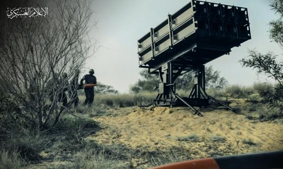 كتائب القسام - سلاح المدفعية