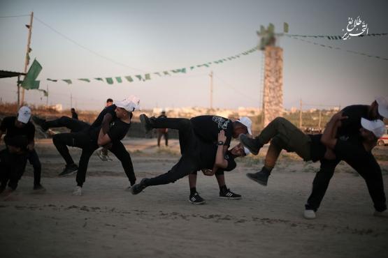 اليوم الثالث للدورة العسكرية التدريبية «سيف القدس»  - لواء الوسطى