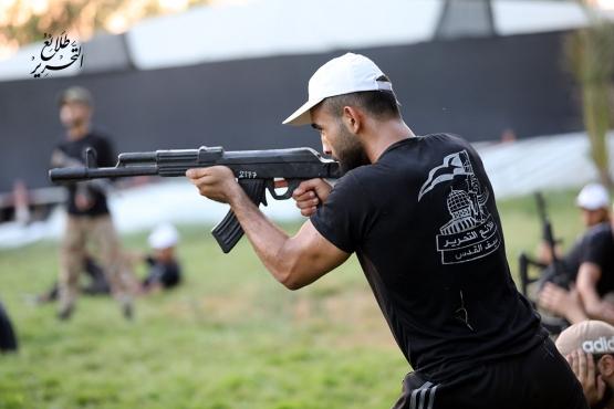 اليوم الرابع للدورة العسكرية التدريبية «سيف القدس»  - لواء الوسطى