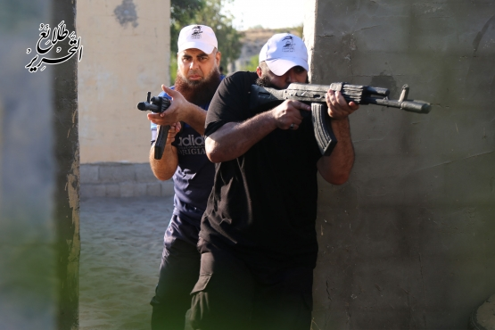 اليوم الرابع للدورة العسكرية التدريبية «سيف القدس»  - لواء رفح