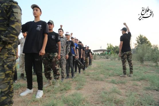 اليوم الثاني للدورة العسكرية التدريبية «سيف القدس»  - لواء الشمال