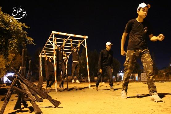 اليوم الخامس للدورة العسكرية التدريبية «سيف القدس»  - لواء رفح