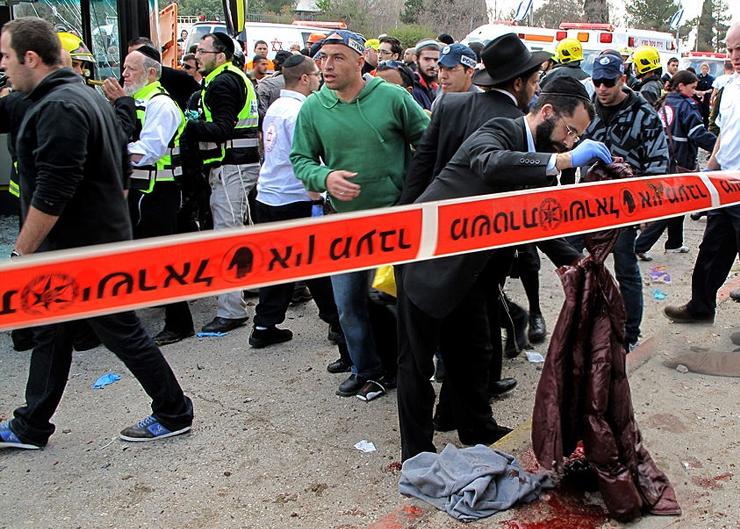 تفجير عبوة بمحطة الحافلات بالقدس المحتلة
