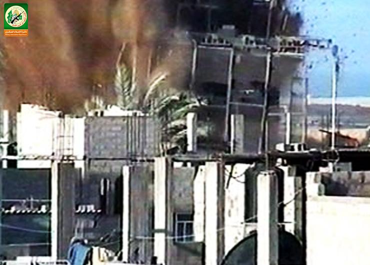 تفجير موقع «حردون» العسكري