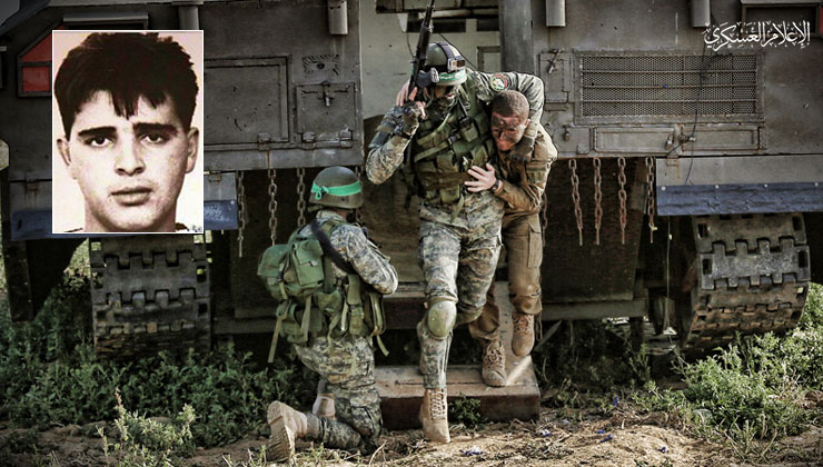انفو فيديو عملية أسر الجندي «إيلان سعدون»
